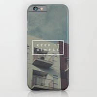 iPhone & iPod Case featuring Keep It Simple by Zeke Tucker