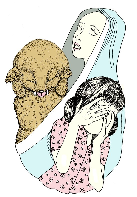 Evil Spirit Art Print