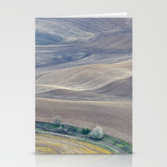 Palouse Abstract II Stationery Card