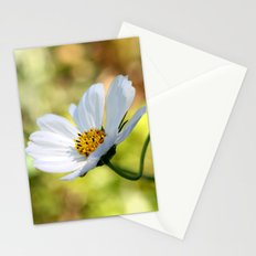 yellow & white flower Stationery Cards