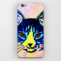 Pop Art Cat No. 2 iPhone & iPod Skin