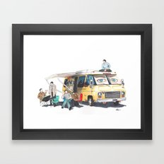 the GISHBUS Framed Art Print