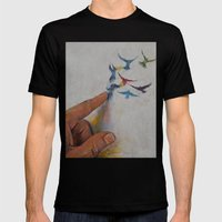 Creation Mens Fitted Tee Black SMALL