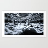Do You Know What's Above… Art Print