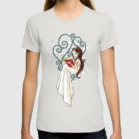 Fairy Tale Womens Fitted Tee Silver SMALL