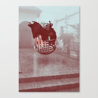 Sevilla Monsters Canvas Print
