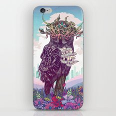Journeying Spirit (Owl) iPhone & iPod Skin