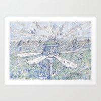 The Solar City Art Print