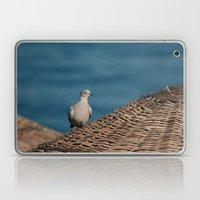 Dove On A Woven Sun Para… Laptop & iPad Skin