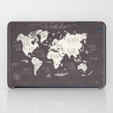 The World Map iPad Case