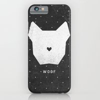 iPhone & iPod Case featuring WOOF by Wesley Bird