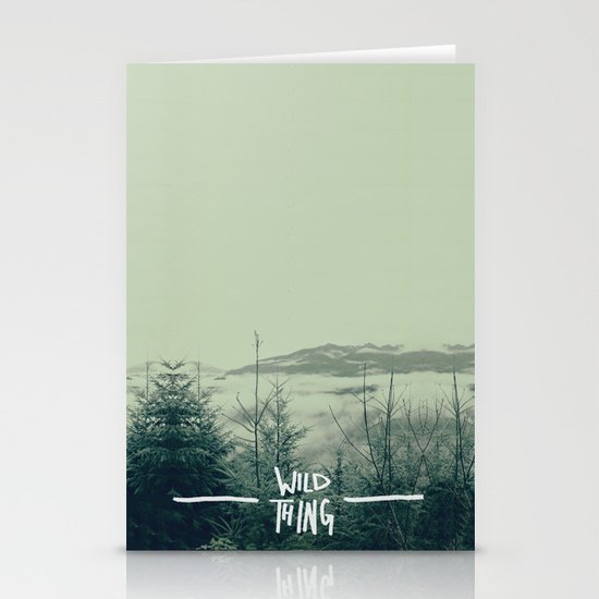 Wild Thing: Skagit Valley, Washington Stationery Card