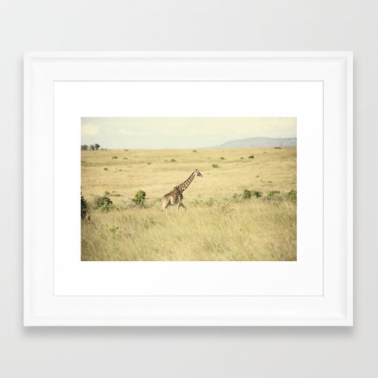 journey::kenya Framed Art Print