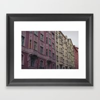 Prague's Old Town Framed Art Print