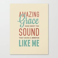 Amazing Grace Canvas Print