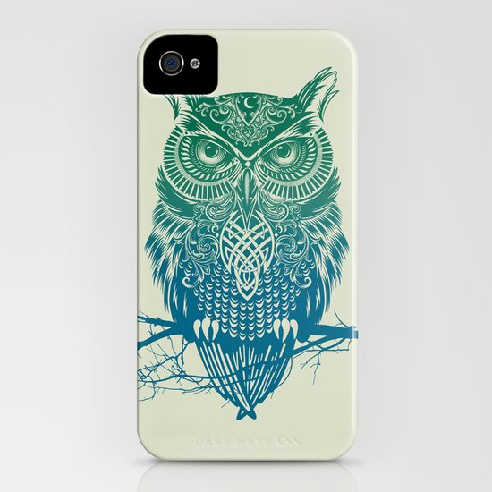 Warrior Owl iPhone & iPod Case