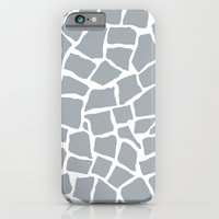 Mosaic Zoom Grey iPhone 6 Slim Case