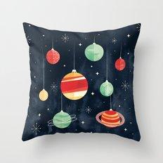 Joy to the Universe Throw Pillow