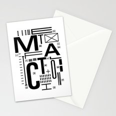 METAL FICTION Stationery Cards