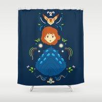 Wind Valley Shower Curtain