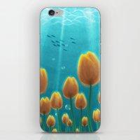 Tulips Under The Sea iPhone & iPod Skin