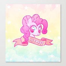 GRUNGE Pinkie Canvas Print