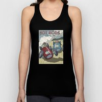 Hot Rods And Racing Cars… Unisex Tank Top