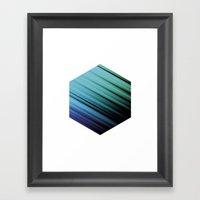Color Box By [PE] Framed Art Print