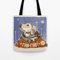 Soviet Space Dog Tote Bag