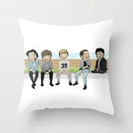 Four Oops Throw Pillow