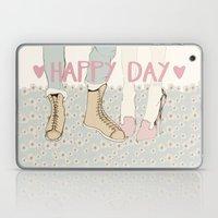 HAPPY DAY Laptop & iPad Skin