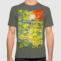 Shelby Drifting Mermaid Mens Fitted Tee Lieutenant SMALL