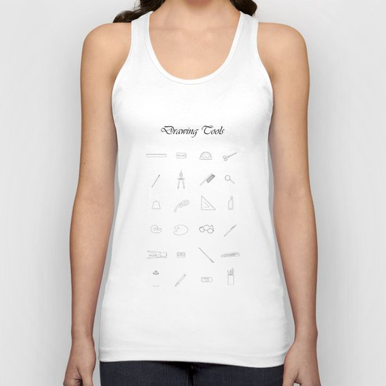 Drawing tools Unisex Tank Top