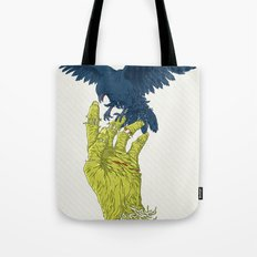 Corvo-papa-zumbi Tote Bag
