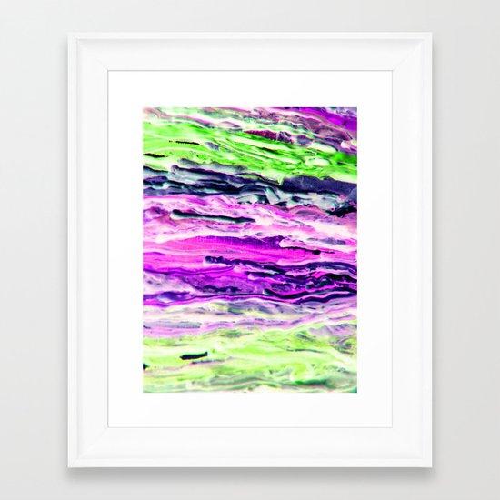 Wax #4 Framed Art Print