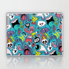 Doodled Pattern Laptop & iPad Skin