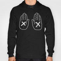 Hands Black Hoody