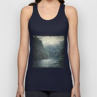 valley and river Unisex Tank Top