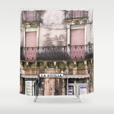 SICILIAN FACADE - Italy Shower Curtain