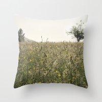 paisaje Throw Pillow