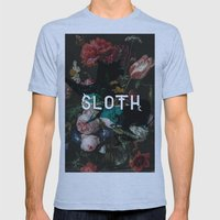 sloth Mens Fitted Tee Athletic Blue SMALL