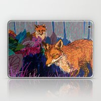 night hunt Laptop & iPad Skin