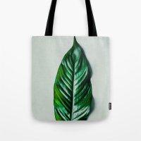 Green Leaf 1 Tote Bag