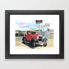 Model A Framed Art Print