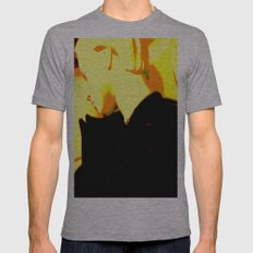 Ghost Of Elvis Mens Fitted Tee Athletic Grey SMALL