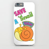 Save A Snail Today! iPhone 6 Slim Case