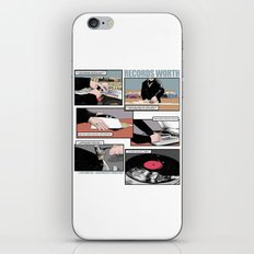 Records Worth iPhone & iPod Skin