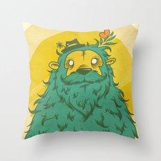 Monster Love! Throw Pillow