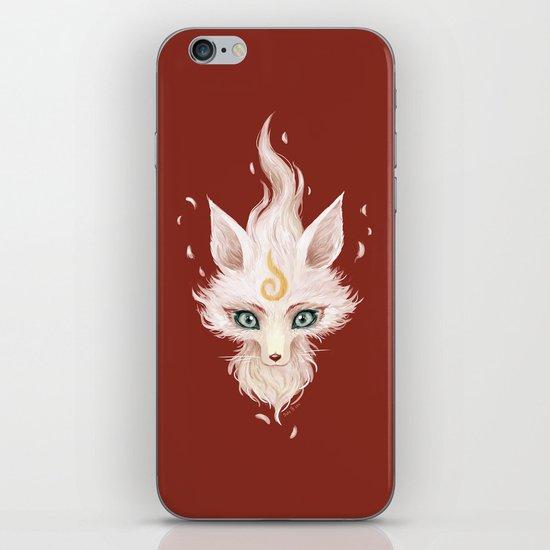 White Fox iPhone & iPod Skin