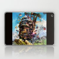 howl's moving castle Laptop & iPad Skin
